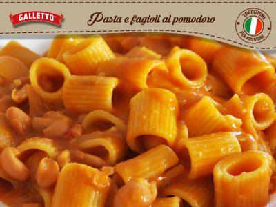 Pasta e Fagioli col Pomodoro